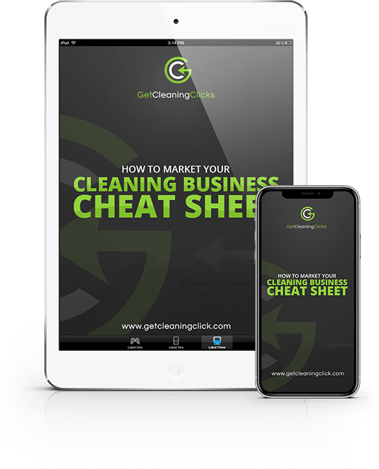 banner-cleaning-business-sheet