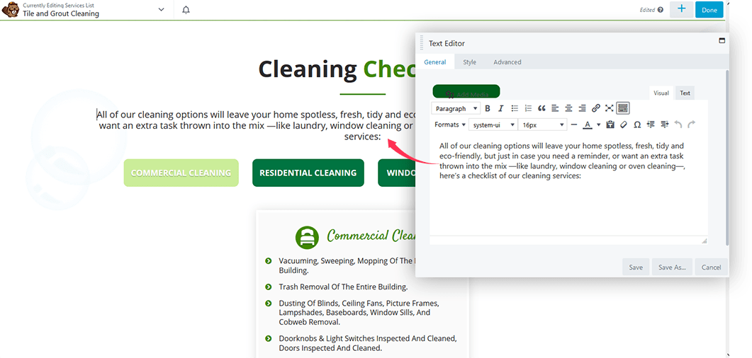 cleaning-website-theme-custom-backend