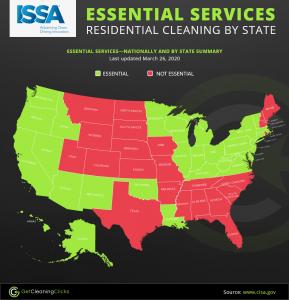 covid 19 USA map