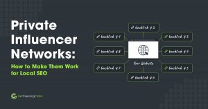 Get Cleaning Clicks - Private Influencer Networks How to Make Them Work for Local SEO